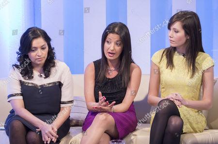 Kiran Daurka, Alicia Alinia and Jamie Gaw.