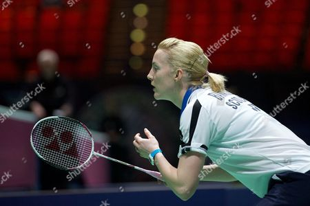 Stock Image of Imogen Bankier in action on Day Two