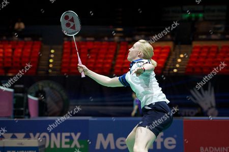 Stock Photo of Imogen Bankier in action on Day Two