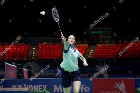 Editorial picture of Yonex All England Open Badminton Championships 2014, Day 2, Birmingham National Indoor Arena, Birmingham, Britain - 05 Mar 2014