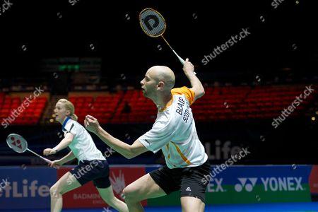 Editorial image of Yonex All England Open Badminton Championships 2014, Day 2, Birmingham National Indoor Arena, Birmingham, Britain - 05 Mar 2014