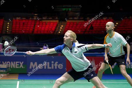 Editorial photo of Yonex All England Open Badminton Championships 2014, Day 2, Birmingham National Indoor Arena, Birmingham, Britain - 05 Mar 2014