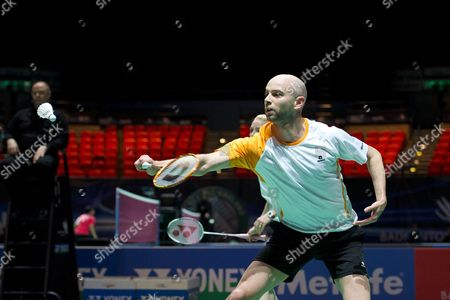 Stock Picture of Robert Blair and Imogen Bankier in action on Day Two