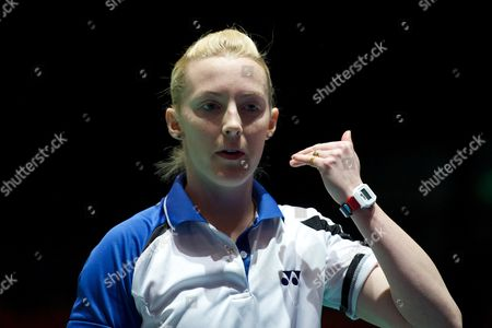 Imogen Bankier in action on Day Two