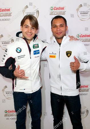 Stock Photo of Augusto Farfus and Adrian Zaugg