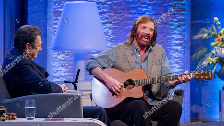 Alan Titchmarsh and Dennis Locorriere
