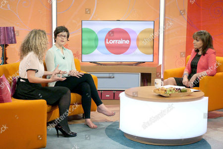 Dr Ellie Cannon and Bea Marshall with Lorraine Kelly