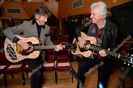 Mike Berry and Bruce Welch