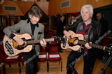 Stock Photo of Mike Berry and Bruce Welch