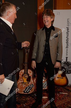 Editorial picture of The Buddy Holly Educational Foundation Official Guitar Presentation, Abbey Road Studios, London, Britain - 06 Mar 2014