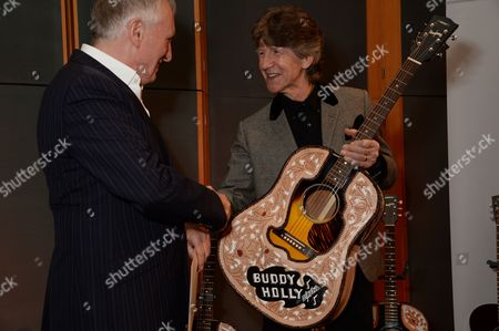 Editorial photo of The Buddy Holly Educational Foundation Official Guitar Presentation, Abbey Road Studios, London, Britain - 06 Mar 2014