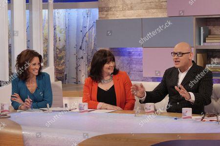 Andrea McLean, Coleen Nolan and Terry Alderton