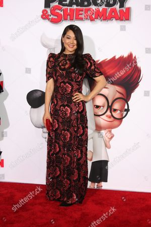Editorial photo of 'Mr.Peabody and Sherman' film premiere, Los Angeles, America - 05 Mar 2014