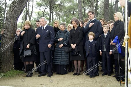Editorial picture of 50th Anniversary of the Death of King Pavlos of Greece, Athens, Greece - 06 Mar 2014