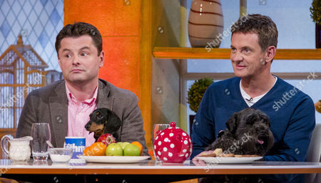 Chris Hollins and Matthew Wright