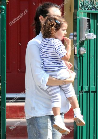Emma Heming with daughter Mabel Ray Willis
