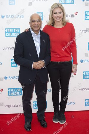 Lord Rumi Verjee and Holly Branson,
