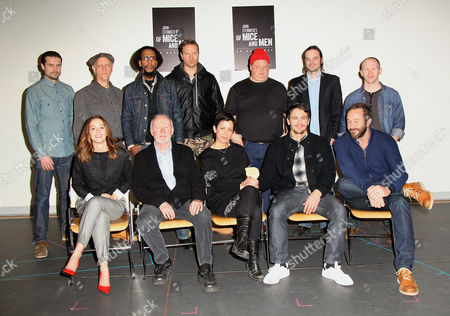 Leighton Meester, Jim Norton, Director Anna D Shapiro, James Franco, Chris O'Dowd and the cast