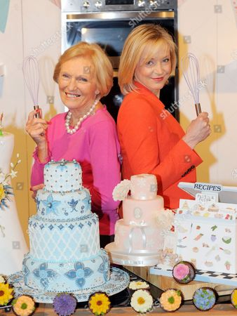 Mary Berry and Mich Turner