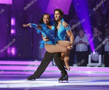 Stock Photo of Zaraah Abrahams and Andy Buchanan