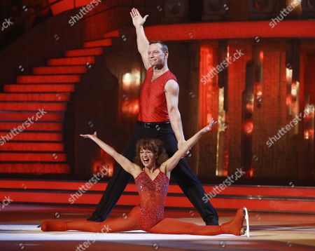 Stock Image of Bonnie Langford and Andrei Lipanov