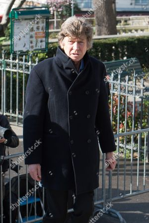 Editorial photo of Funeral of French film director Alain Resnais, Paris, France - 10 Mar 2014