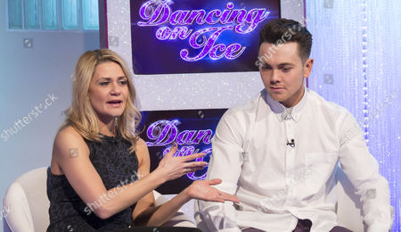 Stock Picture of Maria Filippov and Ray Quinn