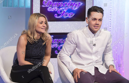 Stock Image of Maria Filippov and Ray Quinn