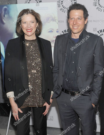 Annette Bening and Arie Posin