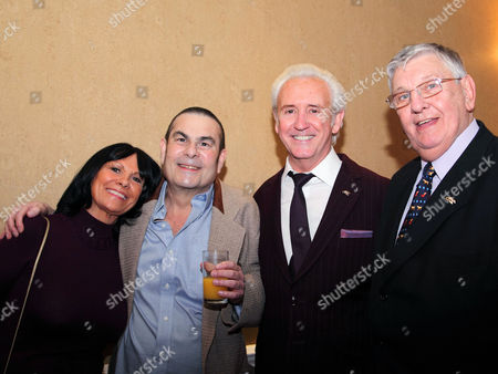 Sue Christie, Eric Hall, Tony Christie and Derek Martin