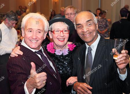 Tony Christie, Su Pollard and Kenny Lynch
