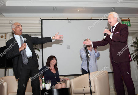 Kenny Lynch, Vicki Michelle, Eric Hall and Tony Christie