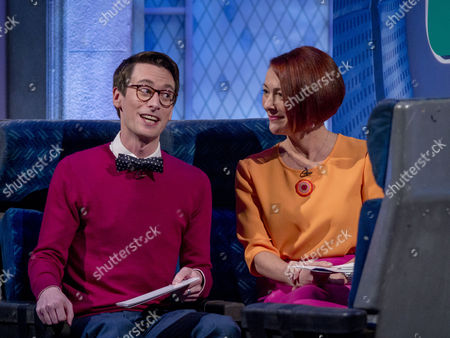 Stock Picture of Kevin Poulter and Fiona Foster