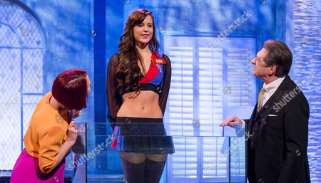 Fiona Foster and The Crystal Palace Cheerleaders for Waterproof Mascara Test