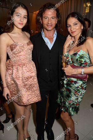 Guest, Manuele Malenotti and Yasmin Mills