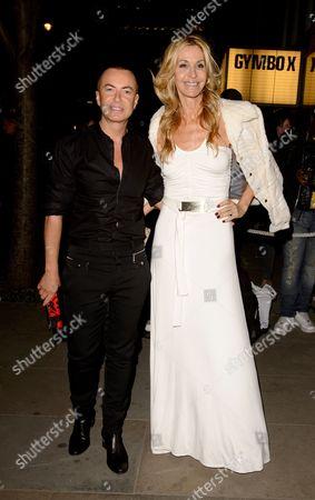Julien McDonald and Melissa Odabash
