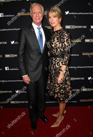 Captain Chesley B Sullenberger III and Lorrie Sullenberger