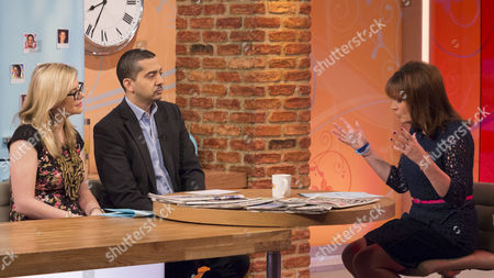 Stock Picture of Emma Barnett and Mehdi Hasan with Lorraine Kelly