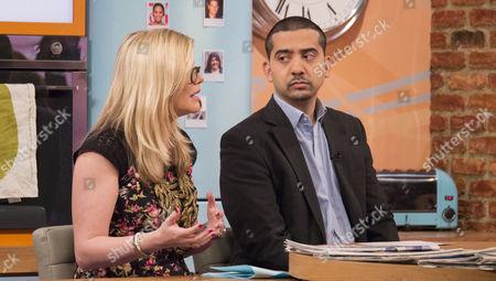 Stock Photo of Emma Barnett and Mehdi Hasan