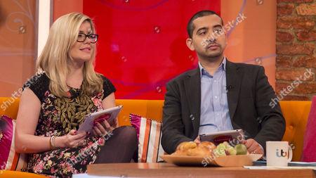 Editorial image of 'Lorraine Live' TV Programme, London, Britain - 11 Mar 2014