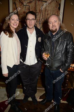 Amy Gilliam, Mark Lamarr and Bill Bailey