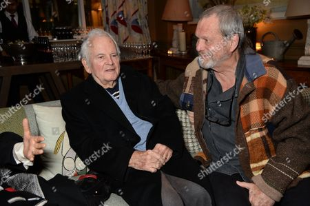 Ian Holm and Terry Gilliam