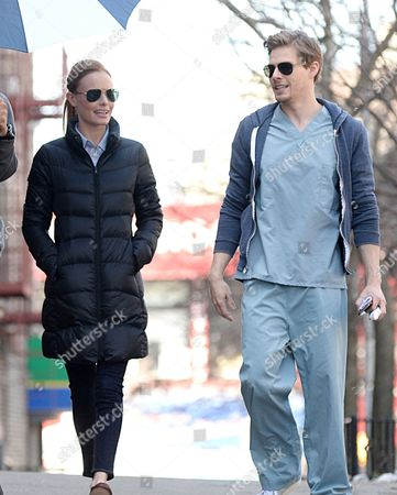 Kate Bosworth and Hunter Parrish