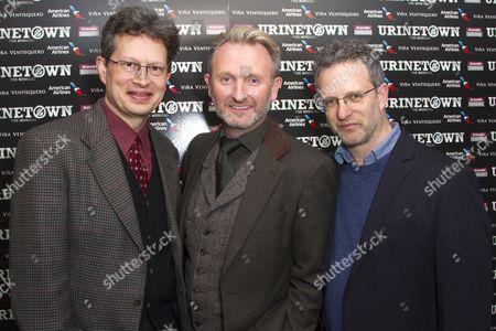 Mark Hollmann (Music/Lyrics), Julian Stoneman (Producer) and Greg Kotis (Author/Lyrics)