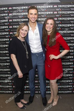 Jenna Russell (Penelope Pennywise), Richard Fleeshman (Bobby Strong) and Rosanna Hyland (Hope Cladwell)