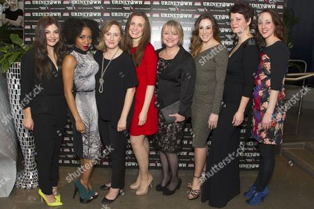 Katie Bernstein (Little Becky Two Shoes/Mrs Millennium), Karis Jack (Little Sally), Jenna Russell (Penelope Pennywise), Rosanna Hyland (Hope Cladwell), Julie Jupp (Old Woman/Josephine Strong), Madeleine Harland (Soupy Sue), Jo Napthine (Swing) and Charlotte Scott (Swing)