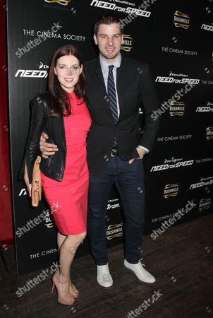 Stock Picture of Rachael Kun and Tim Morehouse