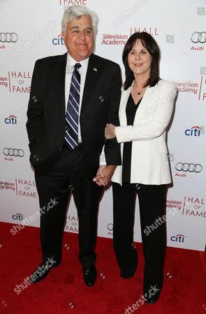 Jay Leno and wife Mavis Leno