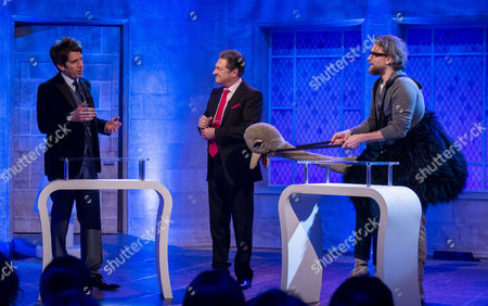 Andy Goldstein, Alan Titchmarsh and Jamie East