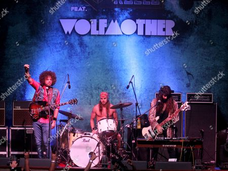 Wolfmother - Andrew Stockdale, Vin Steele and Ian Peres